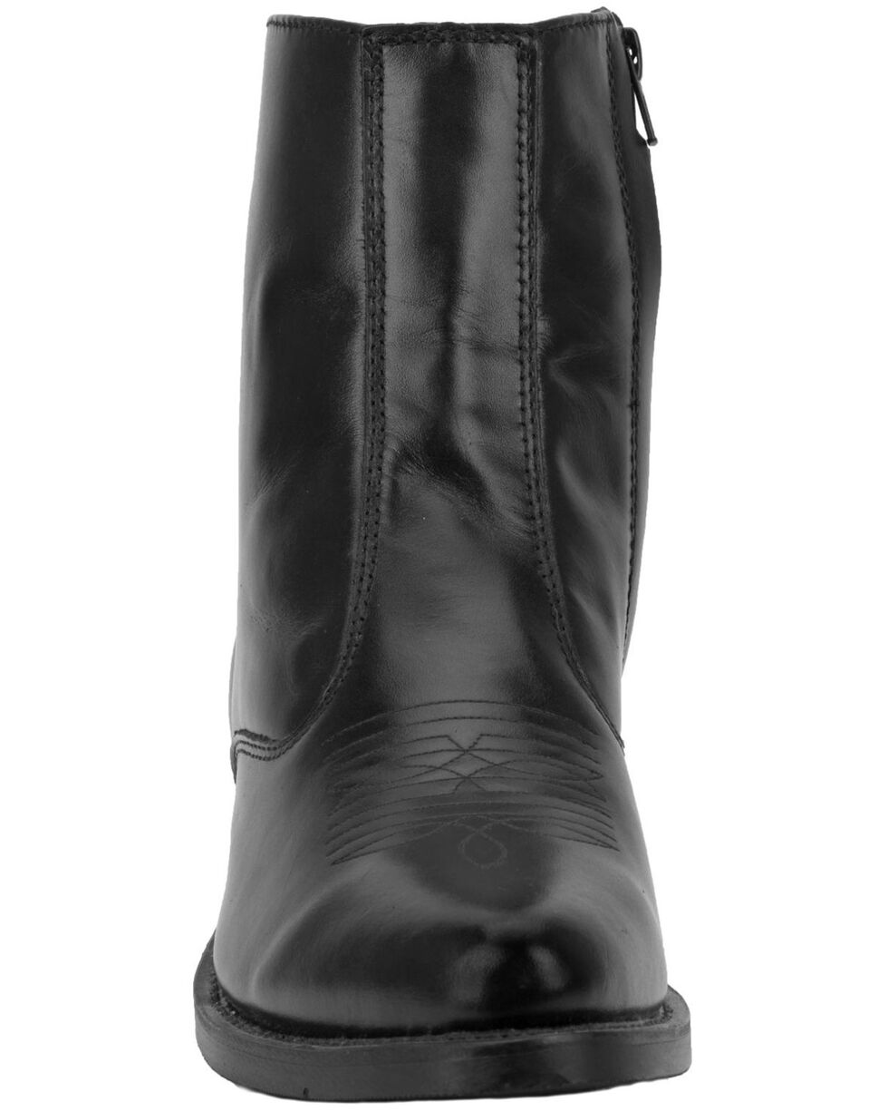 Laredo Men's Long Haul Western Boots - Medium Toe, Black, hi-res