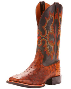 47b22847461 Ostrich Skin Boots - Country Outfitter