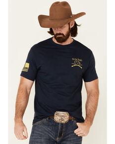 Howitzer Men's Navy We Will Defend Graphic Short Sleeve T-Shirt , Navy, hi-res