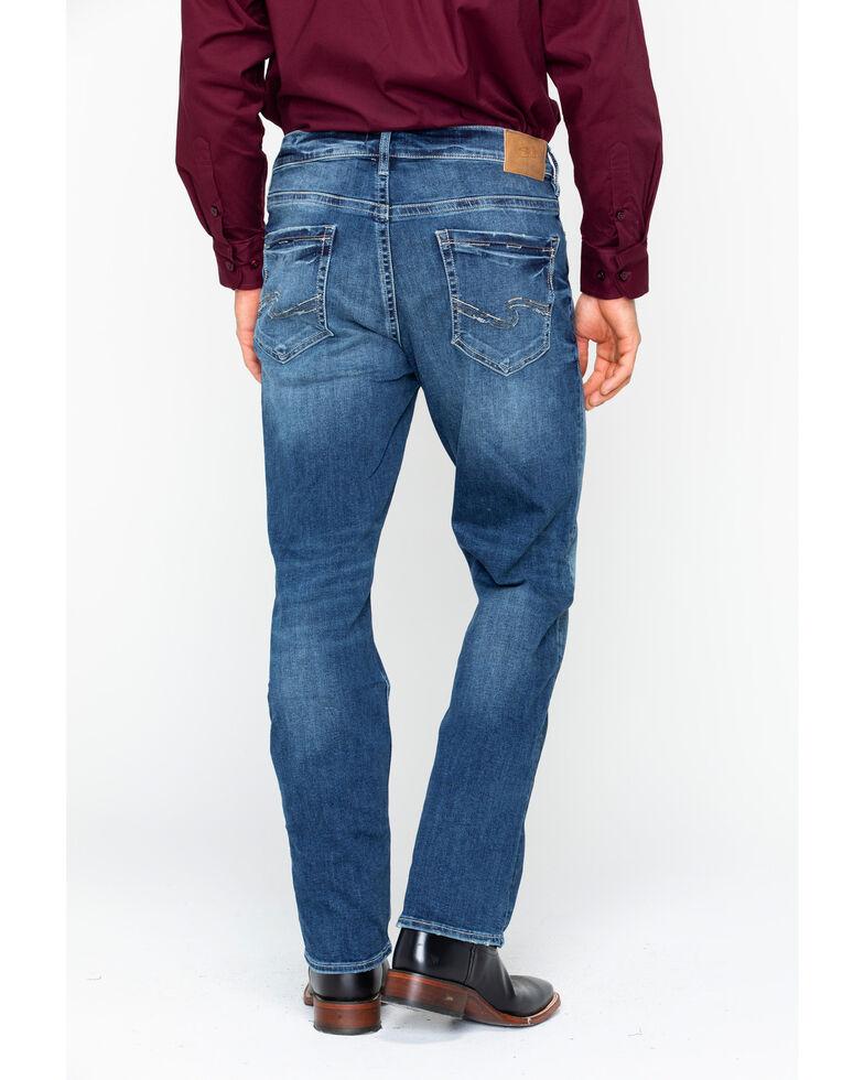 Silver Men's Grayson Denim Jeans , Indigo, hi-res