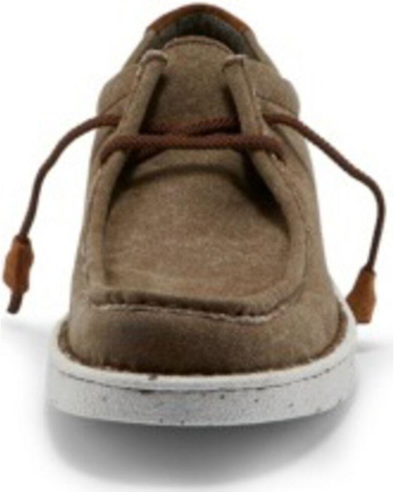 Justin Men's Honcho Clay Lace-Up Shoes - Moc Toe, Brown, hi-res