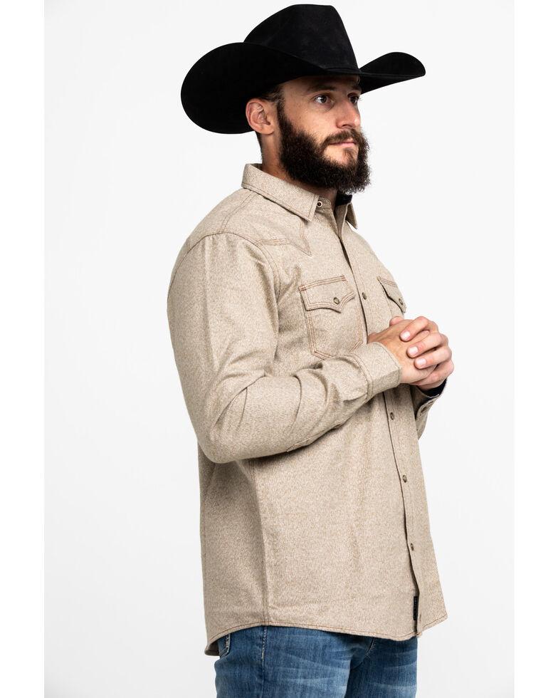 Moonshine Spirit Men's Quicksand Solid Long Sleeve Western Flannel Shirt , , hi-res