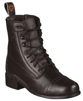 Ariat Kids' Performer III Riding Boots - Round Toe, Brown, hi-res