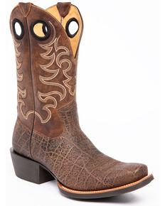 Cody James Men's Kenya Xero Gravity Western Boots - Narrow Square Toe, Tan, hi-res