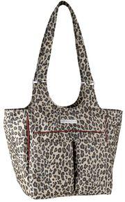 Ariat Mini Carry All Cheetah Print Poly Canvas Tote Bag, Cheetah, hi-res