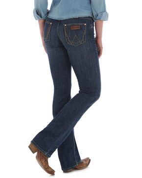 Wrangler Women's Madison Retro Mae Jeans Boot Cut Jeans , Indigo, hi-res