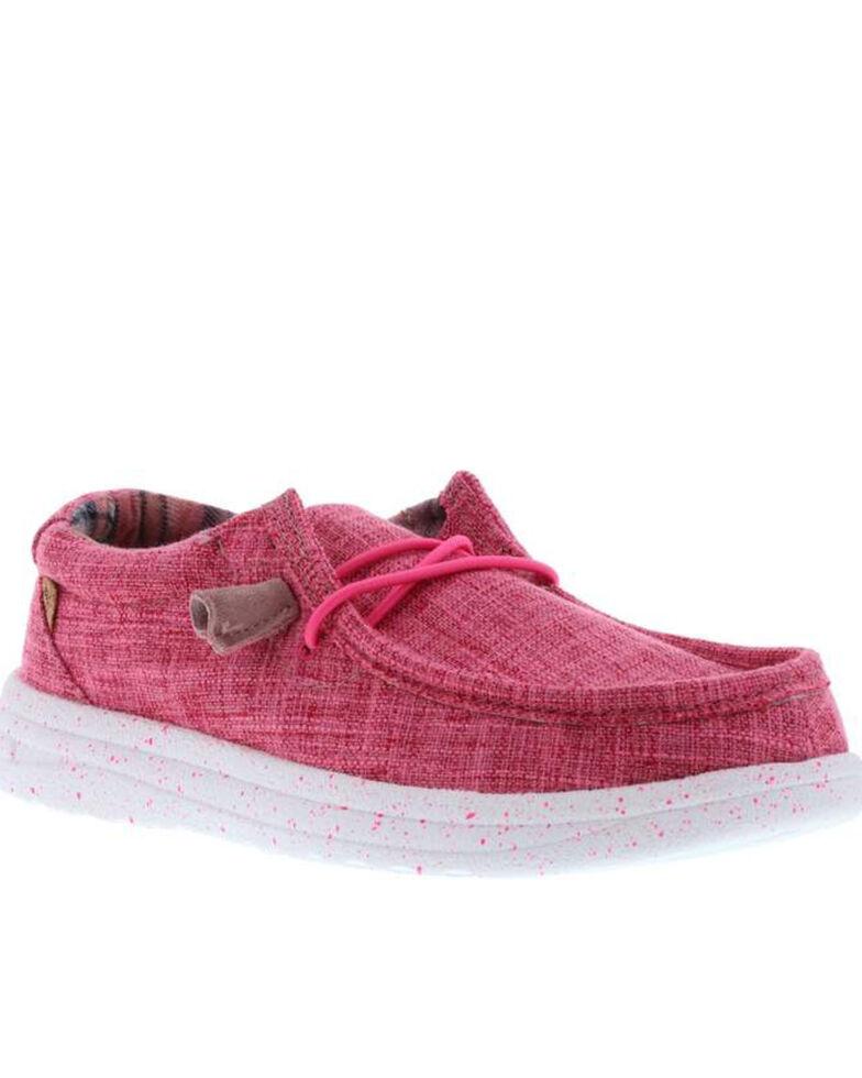 Lamo Footwear Women's Paula Casual Shoes - Moc Toe, Pink, hi-res