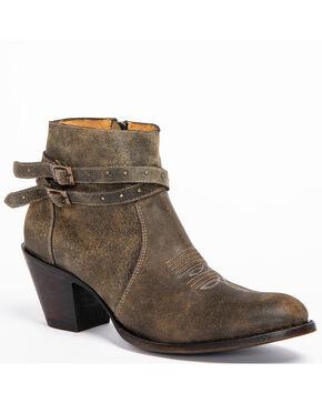 Shyanne Women's Collins Booties - Medium Toe, Black, hi-res