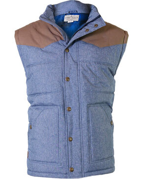 Cody James Men's Squaw Valley Insulated Vest, Navy, hi-res