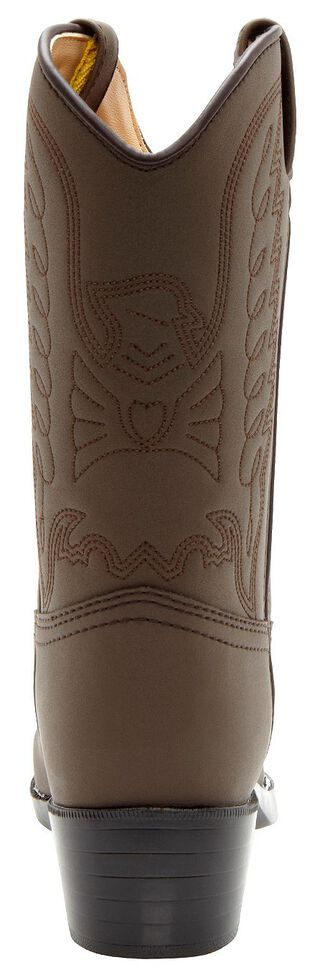 Durango Boys' Brown Cowboy Boots - Round Toe, Brown, hi-res