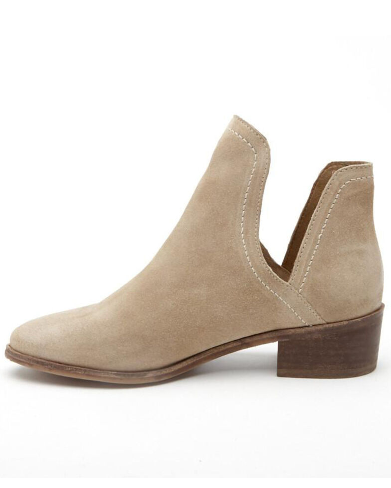 Matisse Women's Natural Pronto Fashion Booties - Round Toe, Natural, hi-res