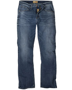 Wrangler 20X Men's Pickett Vintage Stretch Slim Bootcut Jeans - Long, Blue, hi-res