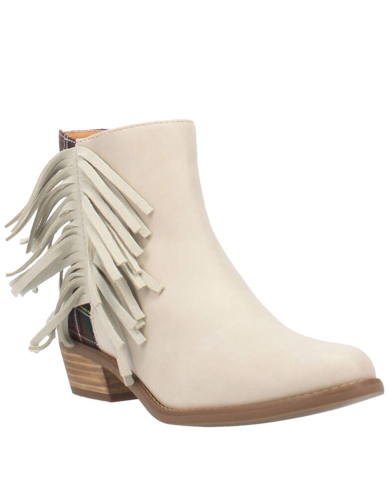 Code West Women's Bae Bae Fashion Booties - Round Toe, Sand, hi-res