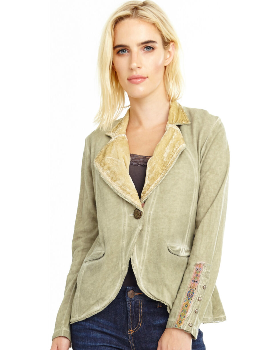 Aratta Women's Gold So Obviously Yours Jacket , Gold, hi-res