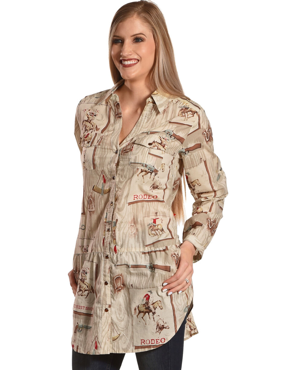 Tasha Polizzi Women's Four Corners Tunic, Multi, hi-res