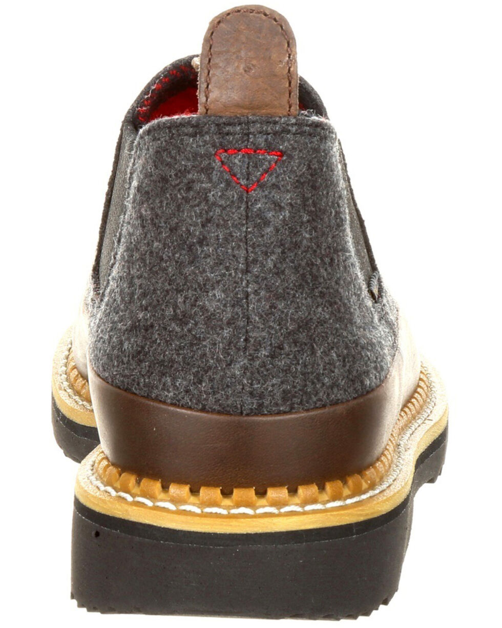 Georgia Boot Men's Pendleton Romeo Shoes - Round Toe, Slate, hi-res