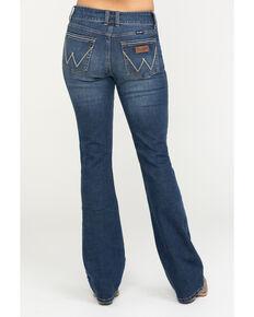 Wrangler Retro Women's Stormy Mae Bootcut Jeans, Blue, hi-res