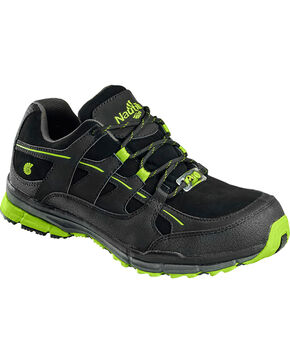 Nautilus Men's ESD Athletic Shoes - Steel Toe , Black, hi-res