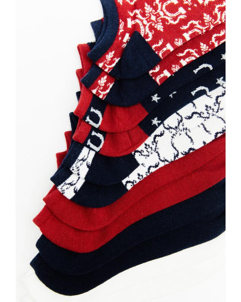 Shyanne Women's No Show Socks - 6 Pack, Multi, hi-res