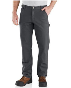 Carhartt Men's Shadow Rugged Flex Relaxed Fit Duck Double-Front Work Pants , No Color, hi-res