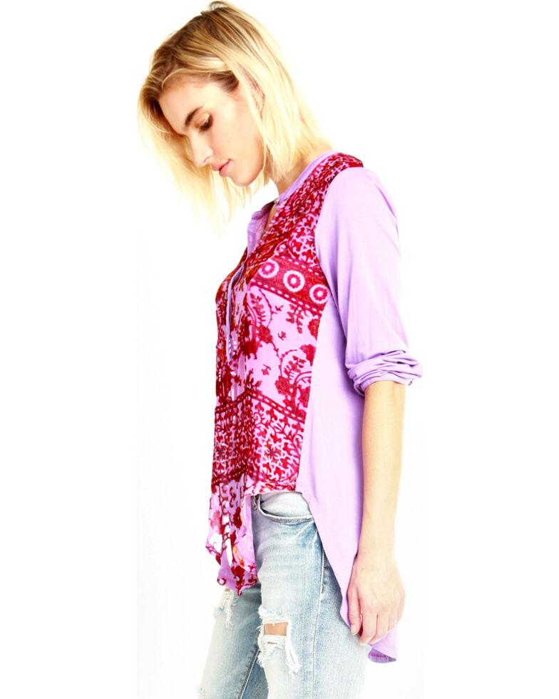 Aratta Women's Violet All You See Top , Violet, hi-res