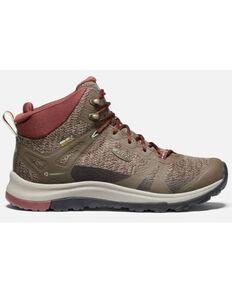 Keen Women's Terradora II Waterproof Hiking Boots - Soft Toe, Olive, hi-res