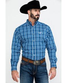 Ariat Men's Relentless Blast Plaid Long Sleeve Western Shirt , Multi, hi-res