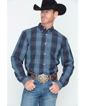 Cody James Men's Rainier Plaid Long Sleeve Shirt, Blue, hi-res