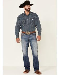 Cody James Men's Bullock Dark Wash Stretch Slim Straight Jeans , Blue, hi-res