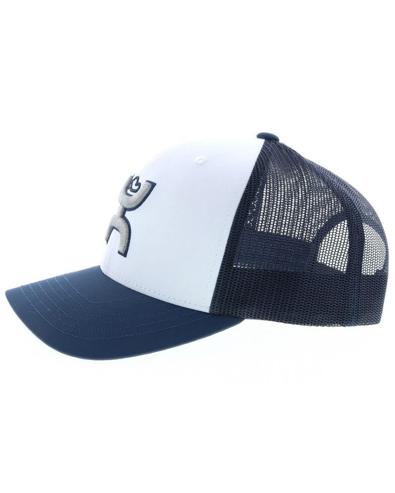 HOOey Men's Preston Logo Patch Cap , Blue, hi-res