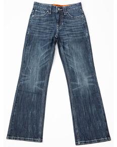 Rock & Roll Cowboy Boys' Reflex Vintage Jeans, Blue, hi-res