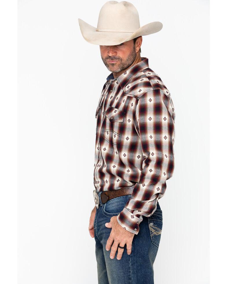Cody James Men's Fort Yukon Plaid Long Sleeve Western Shirt , Blue, hi-res
