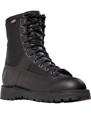 "Danner Men's 8"" Acadia Uniform Boots - Steel Toe , Black, hi-res"