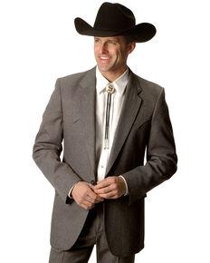 Circle S Lubbock Suit Coat - Big & Tall, Hthr Grey, hi-res