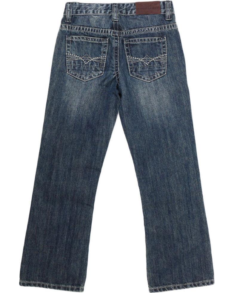 Cody James Big Boys' Dusty Trail Boot Cut Jeans, Blue, hi-res