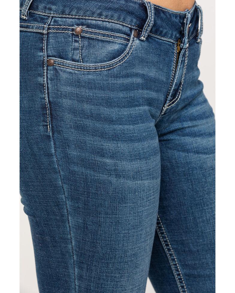 Wrangler Retro Women's Mae Medium Bootcut Jeans, Blue, hi-res