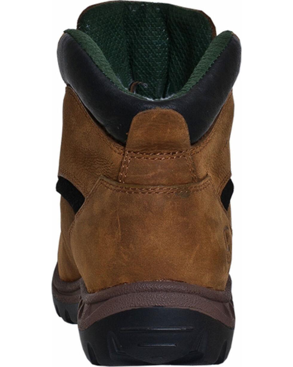 John Deere Women's Waterproof Hiking Work Boots, Tan, hi-res