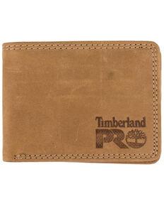 Timberland Men's Wheat Slim Bifold Leather Wallet, Tan, hi-res
