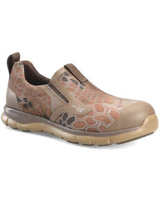 Double H Men's Rocco Slip-On Shoes - Soft Toe, Camouflage, hi-res