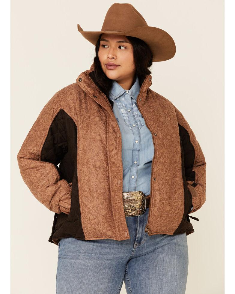 Outback Trading Co. Women's Burlington Jacket - Plus, Tan, hi-res