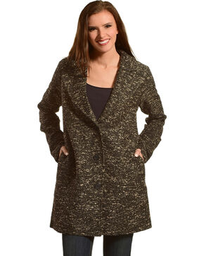 Mystree Women's Sherpa Lined Coat, Multi, hi-res