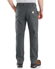 Carhartt Men's Rugged Flex Steel Multi Pocket Work Pants , Grey, hi-res