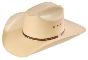 357def9f8f87d Resistol George Strait Palo Duro 8X Straw Cowboy Hat