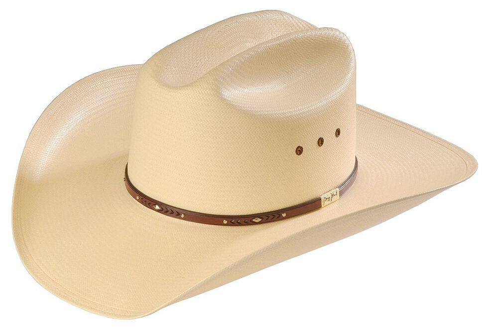 b139c2abc0eef0 Zoomed Image Resistol George Strait Palo Duro 8X Straw Cowboy Hat, Natural,  hi-res