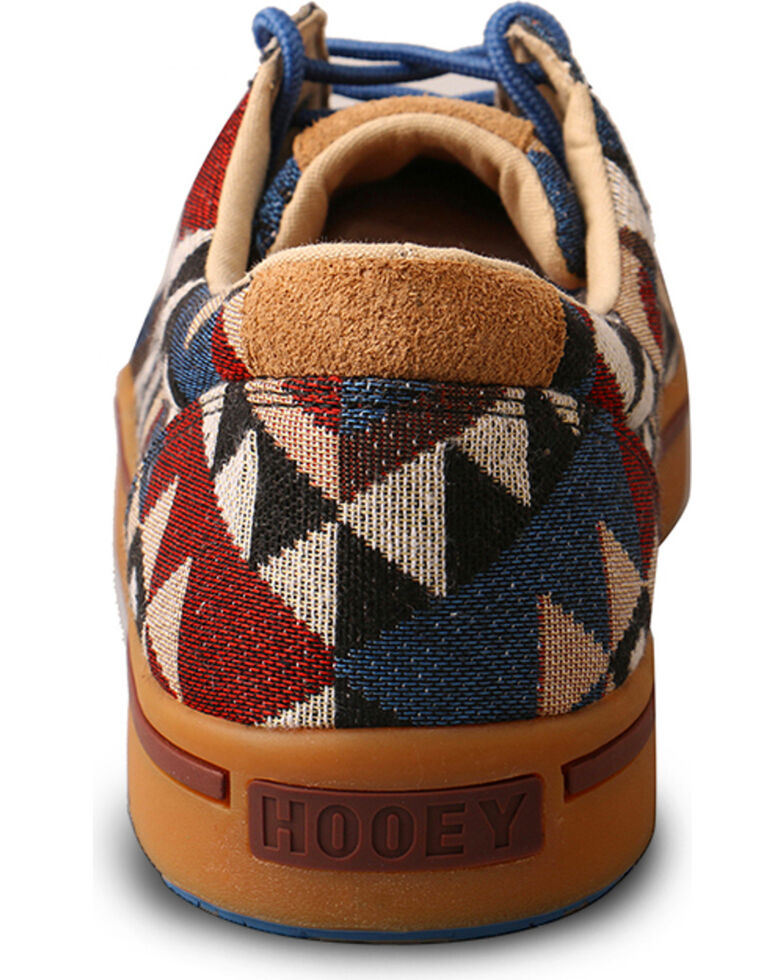 Hooey Lopers by Twisted X Men's Graphic Pattern Canvas Shoes , Multi, hi-res