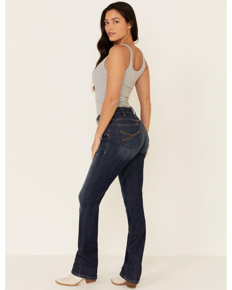 Ariat Women's Kirsten Straight Leg Jeans, Blue, hi-res