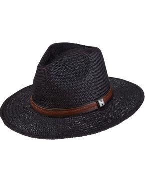 Peter Grimm Men's Black Radcliff Flat Brim Hat , Black, hi-res