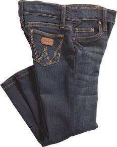 Wrangler Toddler Boys' Western Adjust A Fit Jeans (2T-4T), Blue, hi-res