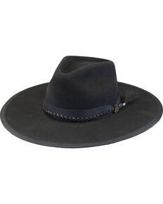 e504300c63a Justin Men s Black 7X Fur Felt Magnificent Hat