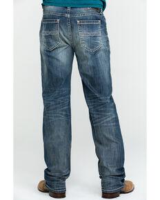 Rock & Roll Denim Men's Reflex Double Barrel Vintage Stretch Relaxed Straight Jeans , Blue, hi-res